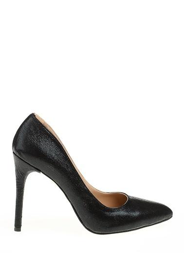 D by Divarese Stiletto Ayakkabı Siyah